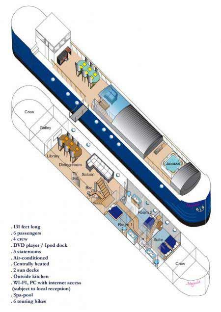 Magnolia deck plan
