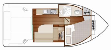 Plan du bateau Nicols PRIMO Nicols
