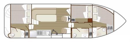Plan du bateau Nicols 1100 Nicols