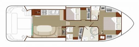 Plan du bateau Nicols SIXTO Nicols