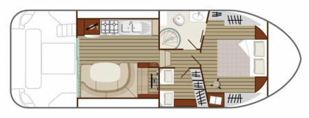 Plan du bateau Nicols QUATTRO S Nicols