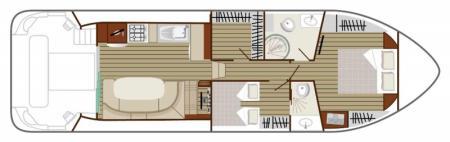 Plan du bateau Nicols SIXTO PRESTIGE C Nicols