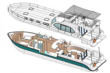 Plan du bateau Nicols OCTO FLY Nicols