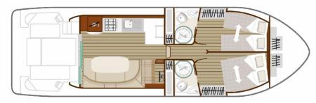 Plan du bateau Nicols QUATTRO Fly C Nicols