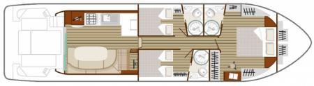 Plan du bateau Nicols SIXTO-FLY-C Nicols
