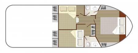 Plan du bateau Nicols 1000 Nicols