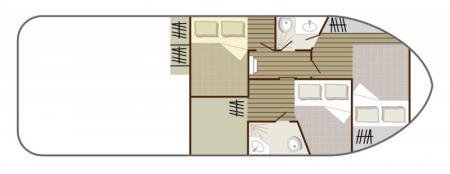 Plan du bateau Nicols 1010 Nicols
