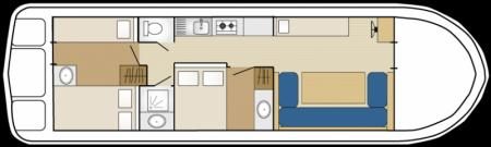 Plan du bateau Les Canalous FPP Espade Concept Fly Les Canalous FPP