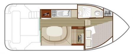 Plan du bateau Nicols DUO Nicols